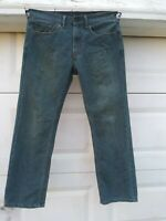 33x32 Levi Strauss 559 Relaxed Straight Blue Jeans Red Tab Denim [sk1]