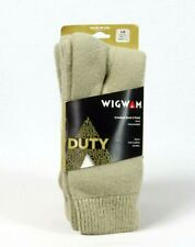 Wigwam Combat Boot Wool Socks Heavyweight Large 2 Pack Duty Cushion Warm Durable