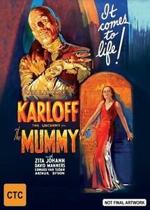 THE MUMMY DVD [UK] NEW DVD