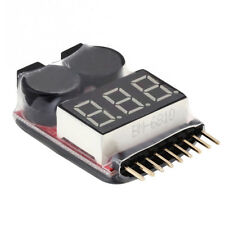1-8S Low Tension Lipo Testeur Warner Avertisseur sonore Piles de Alarme Pieper