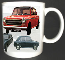 AUSTIN 1100 / 1300 GT CLASSIC CAR MUG.LIMITED EDITION WITH HISTORY ON REVERSE *