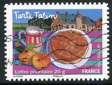 TIMBRE FRANCE AUTOADHESIF OBLITERE N° 454 / LES SAVEURS / TARTE TATIN AUX POMMES