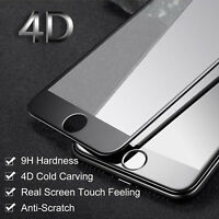 3D Curved Full Coverage Tempered Glass Screen Protector for iPhone 8 7 6 6S Plus