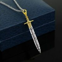 Sword Necklace Pendant Percy Jackson Trident The Sea Of Monsters Poseidon NEW