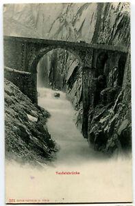CPA Suisse Centrale Pont du Diable Teufelsbrücke