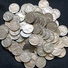 USA Lot 10x Buffalo Nickel 5 Cent Münzen gemischt Sammlung 1913-1938 Full Date