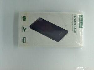 Miisso 10000mAh Cell Phone External Battery Pack, Portable  Power Bank 5V 3.1A