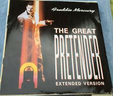 """Freddie Mercury, The Great Pretender 12"""" vinyl, 1987"""