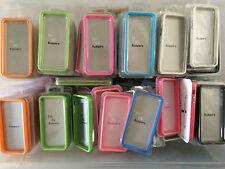 500x New Bumper Case iPhone SE, 5S, 5 Metal Button Colours Wholesale Joblot Bulk