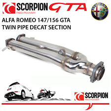 Alfa Romeo GT Coupe 3.2 V6 Scorpion DECAT Twin Pipe Section (replaces O.E cats)