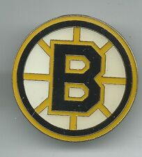 NHL Boston Bruins Round Logo Pin OOP Hockey Team AMINCO #2