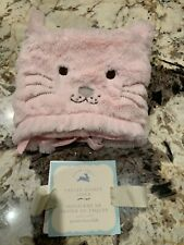 Pottery Barn Kids Small Kitty Easter Basket Liner Critter Cat Holiday New w/ Tag