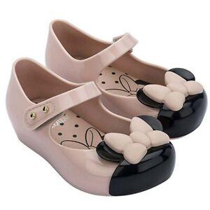 Mini Melissa Mouse Shoes Cartoon Jelly Girl Non-slip Kids Toddler Sandals US6-11