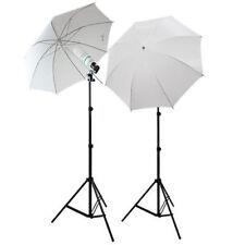 "White Reflector Photography Photo Studio 33"" Umbrella Continuous Lighting Kits"