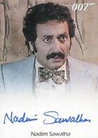 James Bond 50th Anniversary Series One Nadim Sawalha Autograph Card