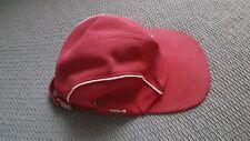 COLLECTION Casquette CAP LACOSTE Vintage Umberto taille 2 bordeau liseret blanc