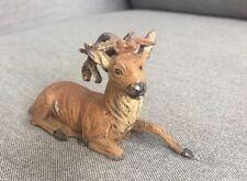 Antique Metal Deer Figurine, Germany