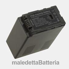 VW-VBG6 Batteria  per Panasonic HDC HDC-SD9 HDC-SD900 HDC-SDT750 (UI9)