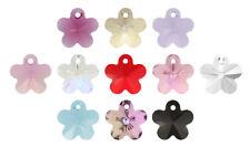 Genuine SWAROVSKI 6744 Flower Crystals Pendants * Many Sizes & Colors
