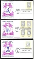 US SC # 3694a-3694d Hawaiian Missionary Stamps FDC. AFDCS Cachet