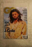 GQ April 2019 Magazine J Cole jcole Rapper Cover Issue conde nast  fashion New
