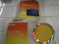 Microsoft Office 2010 Professional For 2 PCs Full English Retail Box Version