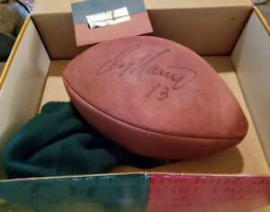 Dan Marino Uda Upper Deck Autograph Wilson Official Nfl Game Football Signed