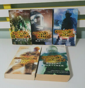 ROBERT BUETTNER SCIENCE FICTION BOOKS ORPHANAGE ORPHAN'S BOOKS 1-5