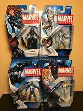MARVEL UNIVERSE BLACK WIDOW,SILVER SURFER,SPIDER-MAN,MARVEL KNIGHTS