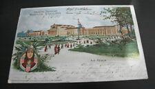 Seltene Postkarte zur Louisiana Ausstellung 1904
