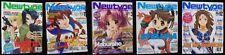 Newtype Magazine lot of 5 magazines 2003 2004 back issues