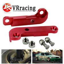 Red Adapter increasing turn angles about 25% E36 drift lock kit For BMW M3