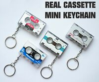 Audio Cassette Tape Vintage Collection Keychain Anti Stress SONY Japan
