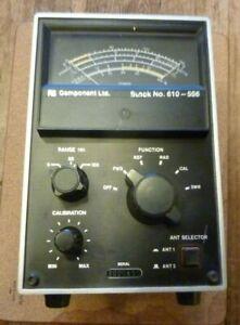 Trio Kenwood  PF 810 Ham Radio  HF SWR Power Meter Wattmeter 5 / 25/ 150 Watts