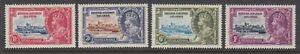 British Solomon Islands, Scott 60-63 (SG 53-56), MLH/HR