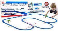 Pista Treno a batteria elettrica grande cm.513 pista treni per bambini