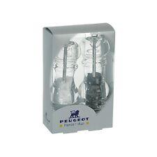 "Peugeot Nancy Acrylic Pepper & Salt Mill Set 18cm/7"""