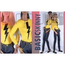 Marcelo Jacob Basic Denim Trousers, for 16in. doll