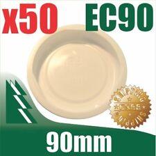 50 Pack of 90mm Cardboard Mailing Tube Plastic End Caps Tubes BULK Buy Post