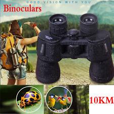 Portable Jumelles Vision Nocturne 10X50 10KM Grand Angle Binoculars Imperméable