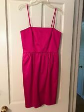 DKNY Fuchsia Sateen Dress Size 8