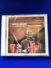 Alvin Queen Mighty Long Way Jazz Enja CD 2009 Jesse Davis T Stafford