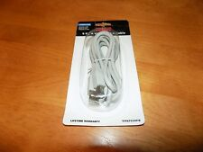 RCA USB 2.0 A to B COMPUTER CABLE 6' LONG 6ft Length TP#752OFD NEW IN PACKAGE