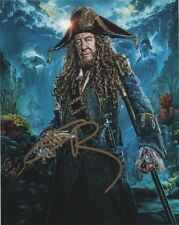 Geoffrey Rush Pirates of the Caribbean Autographed Signed 8x10 Photo COA #1