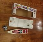 Tyco Riptide 9.6 V Racing Boat W  Box, stand, remote