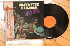 Grand Funk Railroad ?– On Time Hard Rock LP 33t Vinyl + OBI Japan ECS-40034
