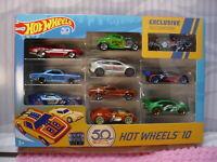 2018 Hot Wheels RLC 50th Anniversary '55 GASSER Exclusive 10 pack Amazon blue