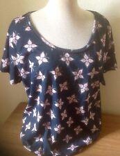 Debenhams Cotton Cap Sleeve Hip Length Women's Tops & Shirts