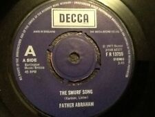 FATHER ABRAHAM . THE SMURF SONG . MINT ORIGINAL 1977 .  Rare mint condition.m