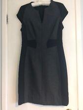 Et Vous Illusion Grey & Black Dress 12